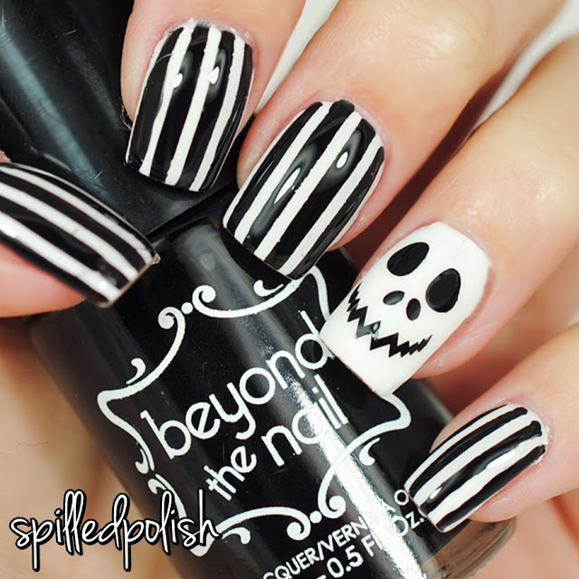 Jack Skellington Nails - Spilledpolish