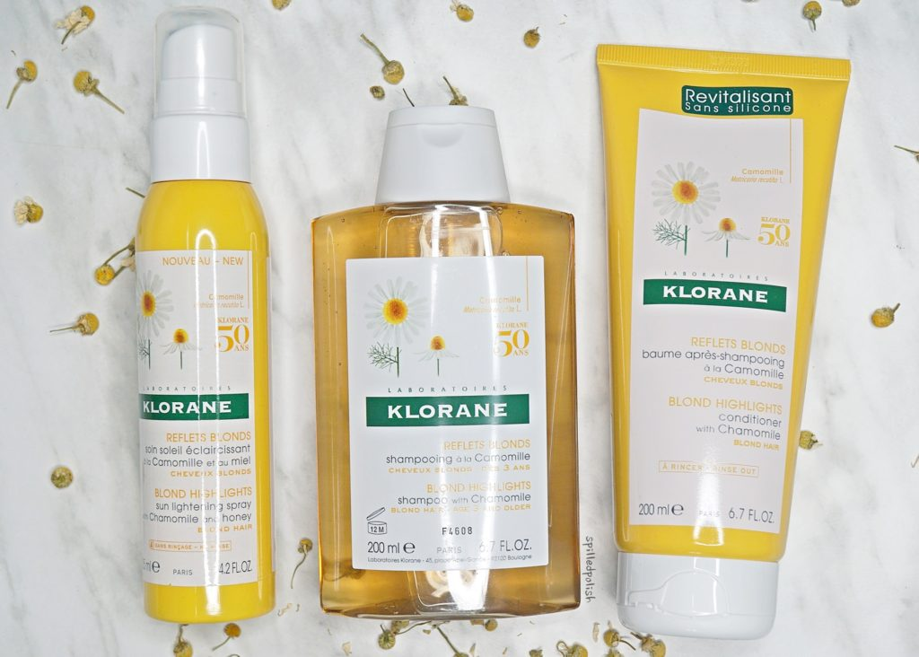 Klorane Lightening Hair Products