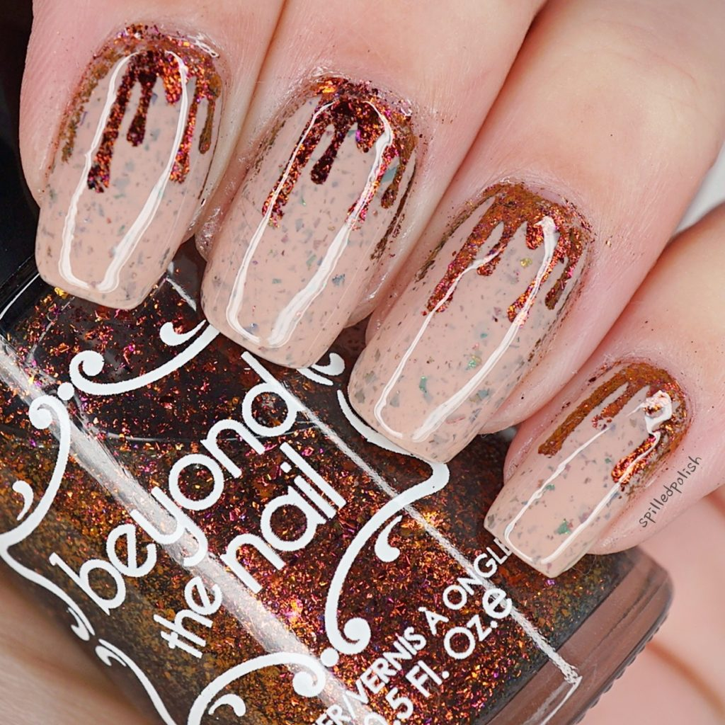 Flakie Blood Drip Nails