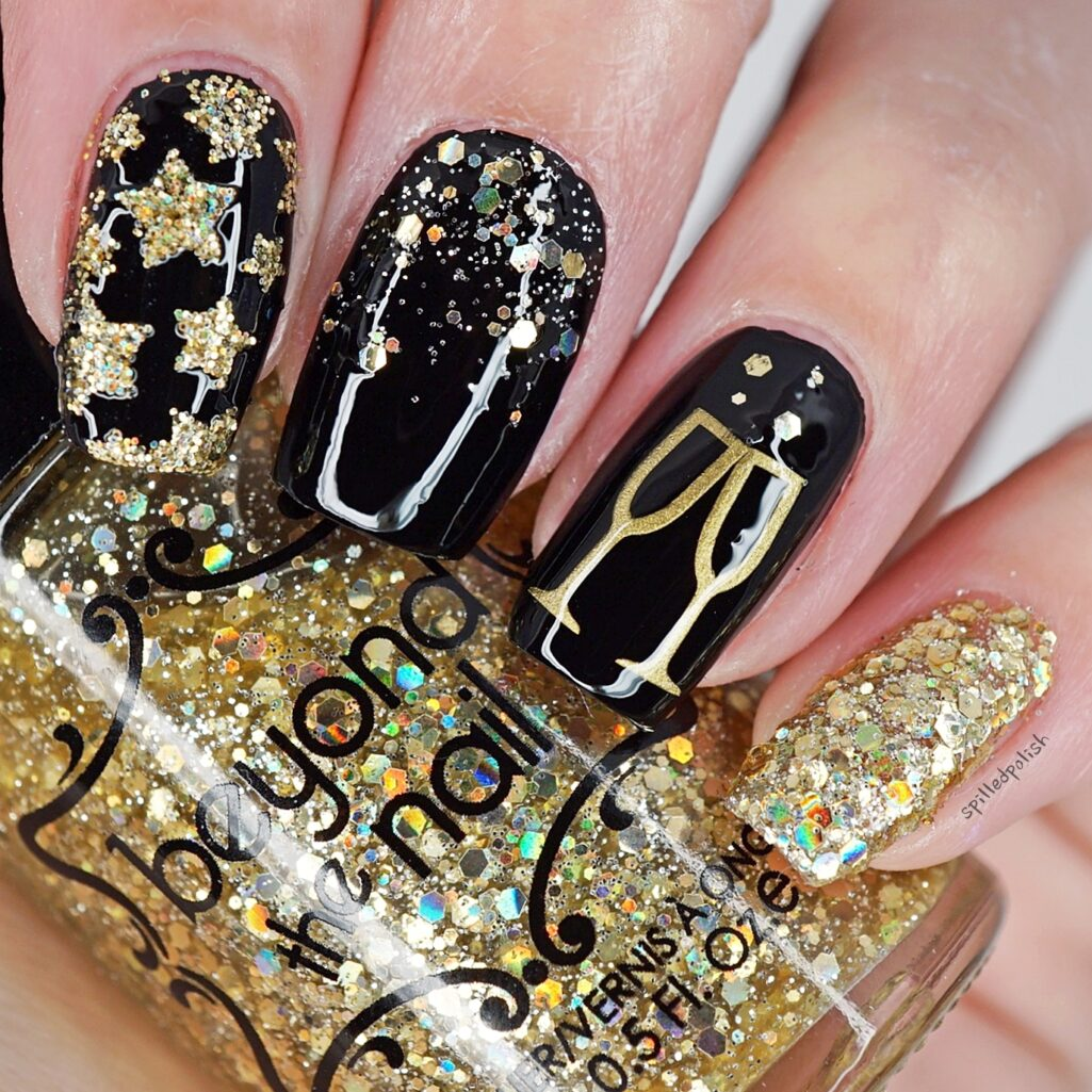 New Years Nails 2018