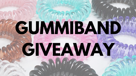 GIVEAWAY: Win a set of GummiBand Hair Cords