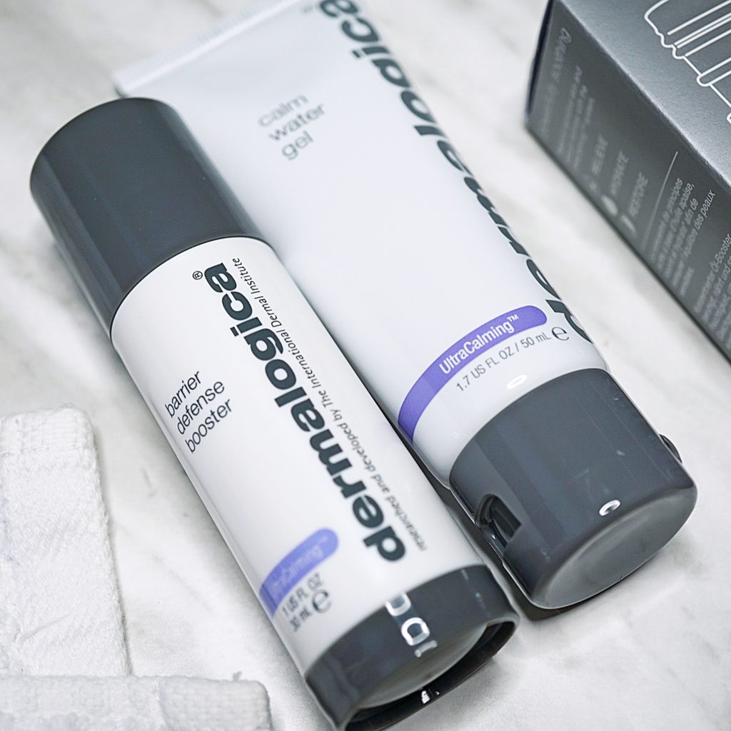Dermalogica's Barrier Defense Booster & Calm Water Gel