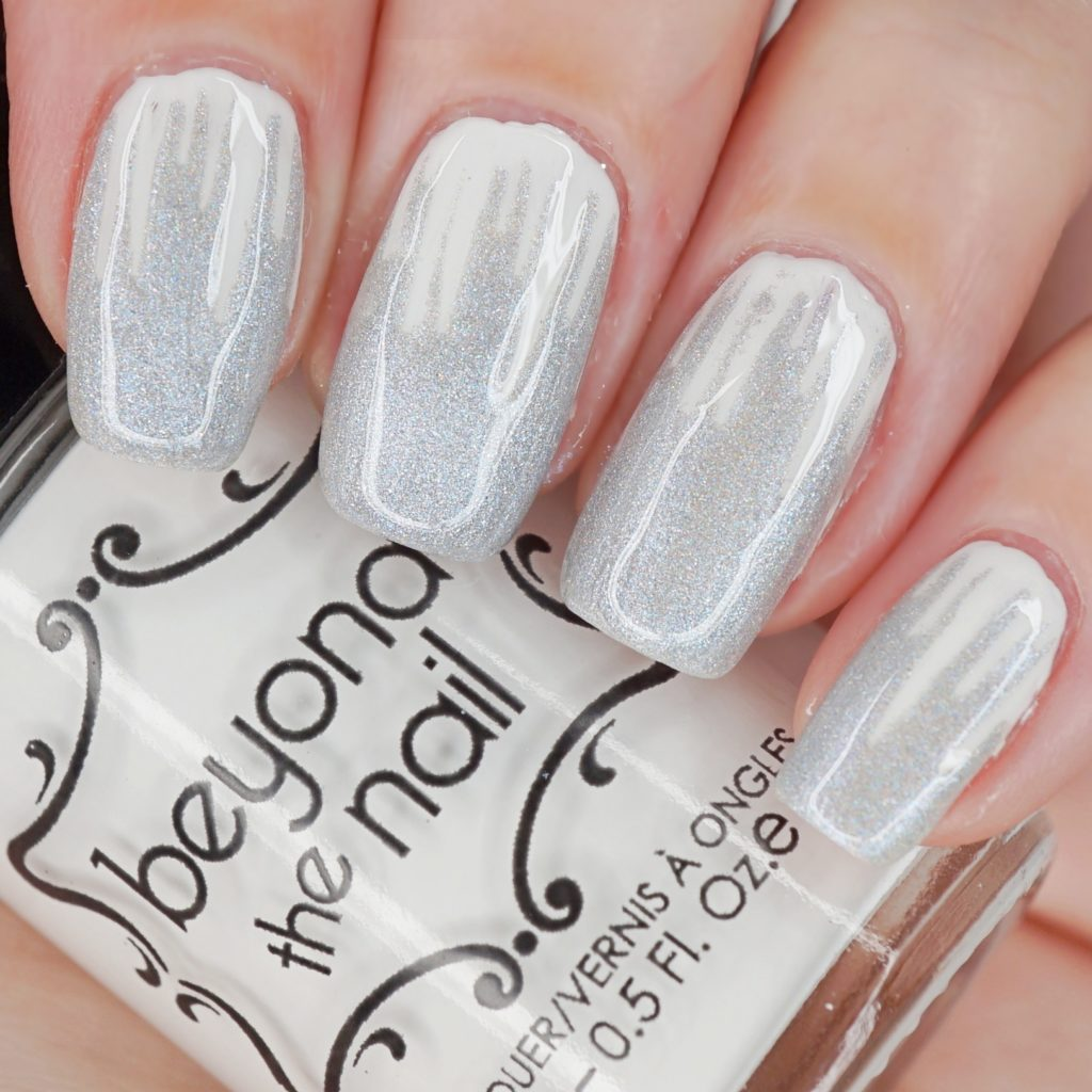 White Icicle Nails