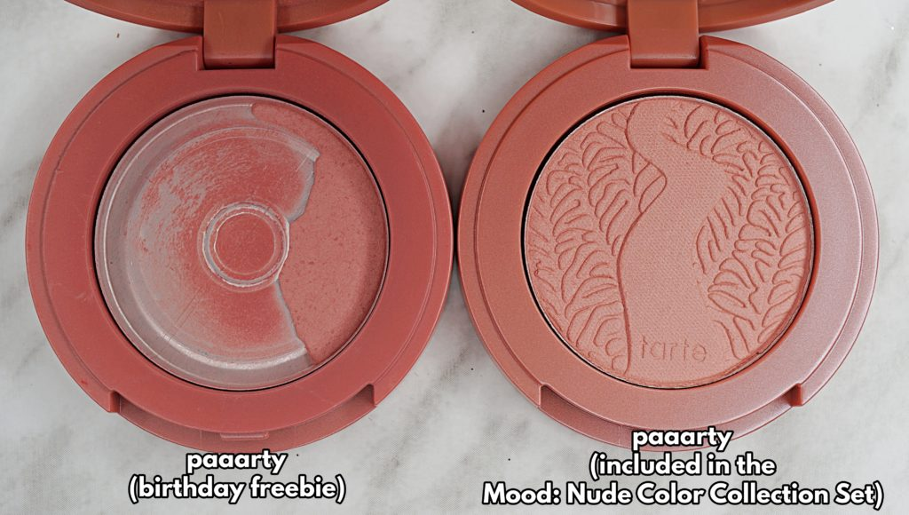 Tarte Mood: Nude Color Collection Set