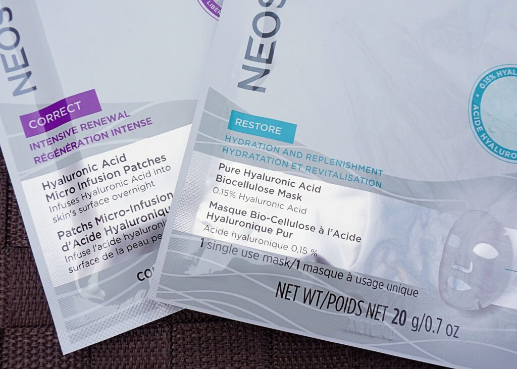 Neostrata - Hyaluronic Acid Micro Infusion Patches & Biocellulose Mask